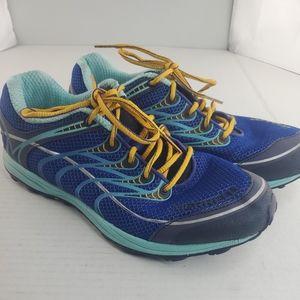 Women's Merrell Ultra Marine Water Resistant Shoes Size 9 Blue Trail  (EU 40)